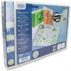 Elba Panorama Pres Binder A3 4D 30mm Wht (Pack of 2)
